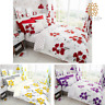 Poppy Flower Duvet Set Reversible Quilt Cover Printed Bedding Double King Sale