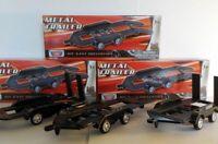Twin axle Car Trailer X3 1/43 Motormax