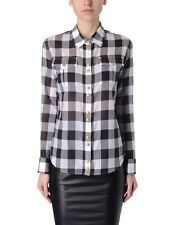 BALMAIN CHECK SHIRT, Size UK 8-10/FR 36