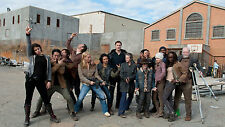 Poster 42x24 cm The Walking Dead Actors Cast