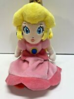 "2011 Nintendo Super Mario Princess Peach Plush 9"""
