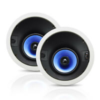 "NEW Pyle PIC62A PAIR 250W 6.5"" Directional In-ceiling Speakers Adjustable Treble"