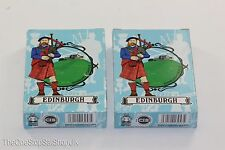 2 x Pack of Edinburgh Castle Souvenir Playing Cards, 52 Cards & 2 Jokers