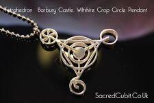 Quatrième dimensionnelle barbury Castle crop circle pendentif symbole sacré géométrique
