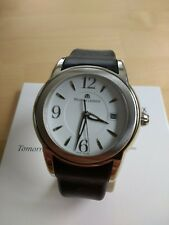 Maurice Lacroix Sphere Swiss Made Mens Leather Strap Watch - VGC
