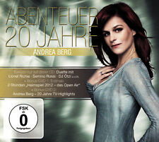 ANDREA BERG - CD + 2 DVD - ABENTEUER 20 JAHRE
