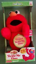 Original Tickle Me Elmo New in Box Fisher Price Sesame Street