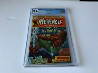 WEREWOLF BY NIGHT 20 CGC 9.6 WHITE PAGES MONSTER BREAKS FREE MARVEL COMICS 1974