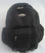 iSafe Backpack Built-In Alarm Strobe Light Laptop Sleeve  Screen Security Black
