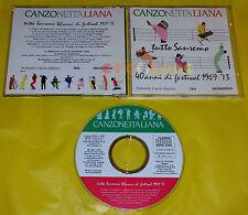 Canzone Italiana TUTTO SANREMO 40 ANNI DI FESTIVAL 1969-73 Various Artists 1990