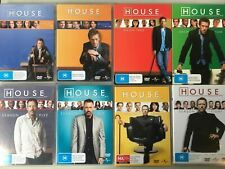 HOUSE MD M.D. Complete Series 1 2 3 4 5 6 7 8 DVD All Seasons Collection NEW UK