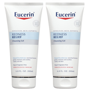 Eucerin Redness Relief Soothing Cleanser/Gel, 6.8 oz