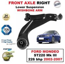 FRONT AXLE RIGHT Lower Wishbone ARM for FORD MONDEO ST220 III 226 bhp 2002-2007