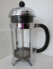 Bodum Chrome CHAMBORD Dome French Press 8 Cup Coffee Tea Maker 34 oz Used