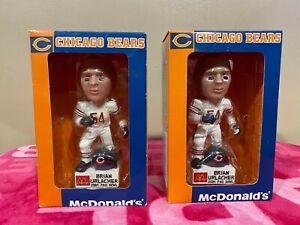 LOT of 2 BRIAN URLACHER 2001 NFL PRO BOWL CHICAGO BEARS FOOTBALL McDONALDS