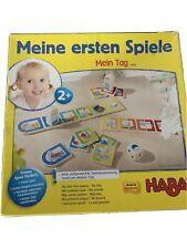 Haba Meine Ersten Spiele Mein Tag 1-2 Kinder Ab 2jahre