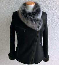 Damenjacken & -mäntel aus Leder mit Reißverschluss für Business-Anlässe