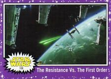 2017 Journey to Star Wars The Last Jedi Walmart Purple Parallel card #108 NM