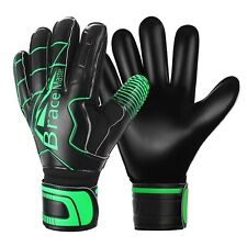 Goalie Goalkeeper Gloves for Youth and Adult, with Strong Grip and Finger Spi.