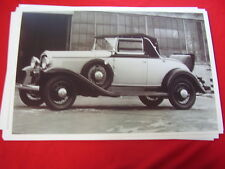 1931 OLDSMOBILE ROADSTER  11 X 17  PHOTO   PICTURE