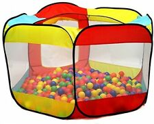 200 Plastic Pit Balls, Playhouse Toys and Games BPA Free Crush Proof Colored