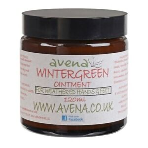 Wintergreen Ointment Joint Muscle Cramps Pain Relief Arthritis Natural Remedy