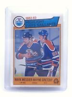 1983-1984 Messier Gretzky #23 Edmonton Oilers OPC O-Pee-Chee Hockey Card H667