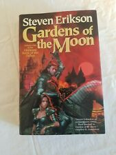 Gardens of the Moon by Steven Erikson(1st Edition/First Printing,Signed) Malazan