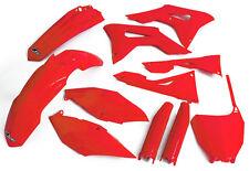 Honda CRF 450 Motocross MX Full Plastic Kit 2017 UFO Air Box +Fork Sliders Red