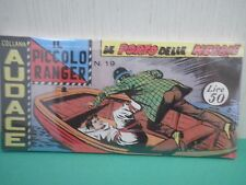 Collana AUDACE il Piccolo Ranger Striscia Fumetto  Anastatica  2°serie N 19 CU