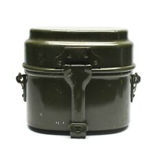 Genuine Hungarian Army mess kit. Aluminium military bowler pot
