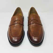Cole Haan Kneeland (Men's Size 7D) Leather Tan Penny Loafers Dress Shoes