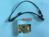 HP Z440  Lightning Extension Card PCI-E 753732-001 + supply cable 751366-001