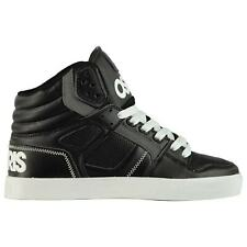 Osiris Clone Hi Top Sneakers Mens Gents Skate Shoes Laces Fastened Padded Ankle