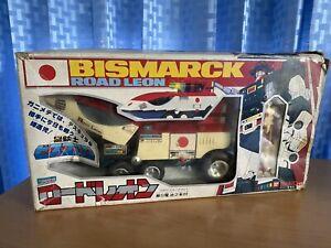 Saber rider Bismarck Dx Road Leon Shinji popy Chogokin godaikin bandai 1985