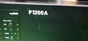 d&b P1200A Power Amplifier with Max15 Module