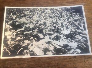 Real Photo Postcard Japanese Nagasaki Earthquake Natural Disaster 1923 Japan