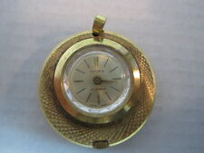 Swiss Incabloc Watch Pendant Vintage Ilona 17 Jewel