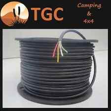 3mm 5 core 10 amp quality trailer wire / cable per m