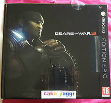 GEARS OF WAR 3 EPIC EDITION XBOX 360 PAL VERSION 100% FRANCAISE
