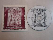 DEVLIN GRAND DEATH OPENING 2002 PROMO ONLY ADVANCE CD CARDBOARD SLEEVE 10 TRKS