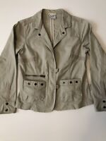 Columbia Woman's Khaki jacket size small GREAT Piece for any woman's closet