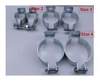 2 pcs size 4 bike frame clips ebike battery case controller box water bottle DIY