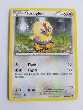 Carte Pokemon FURAIGLON noir et blanc Pouvoirs Émergents 87/98