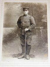 PHOTOGRAPHIE ANCIENNE ORIGINALE JAPON Photo NISHIMURA Soldat Uniforme Sabre 1919