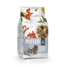 PUUR Chinchilla & Degu Mixture 500g - Gourmet muesli for chinchillas and degus