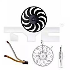 TYC Radiator Cooling Fan For AUDI A4 Avant Convertible A6 B6 8H 8E 1997-2009