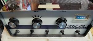 PALOMAR 300A HAM RADIO LINEAR Untested.. Missing transformer..