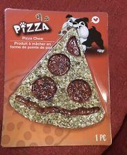 New listing Pizza Dog Chew Rawhide Rice Dog Treat New