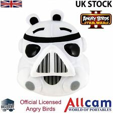 """Angry Birds Star Wars II Large 8"""" Cuddly Toy / Soft Plush Toy - Storm trooper"""